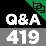 """Artwork for Q&A 419: A New Way To """"Spot Reduce"""" Fat, Are Plant Anti-Nutrients Really That Bad, The Dark Side Of Daylight Saving Time & Much More."""