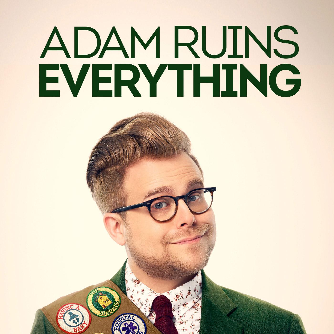 Adam Ruins Everything show art