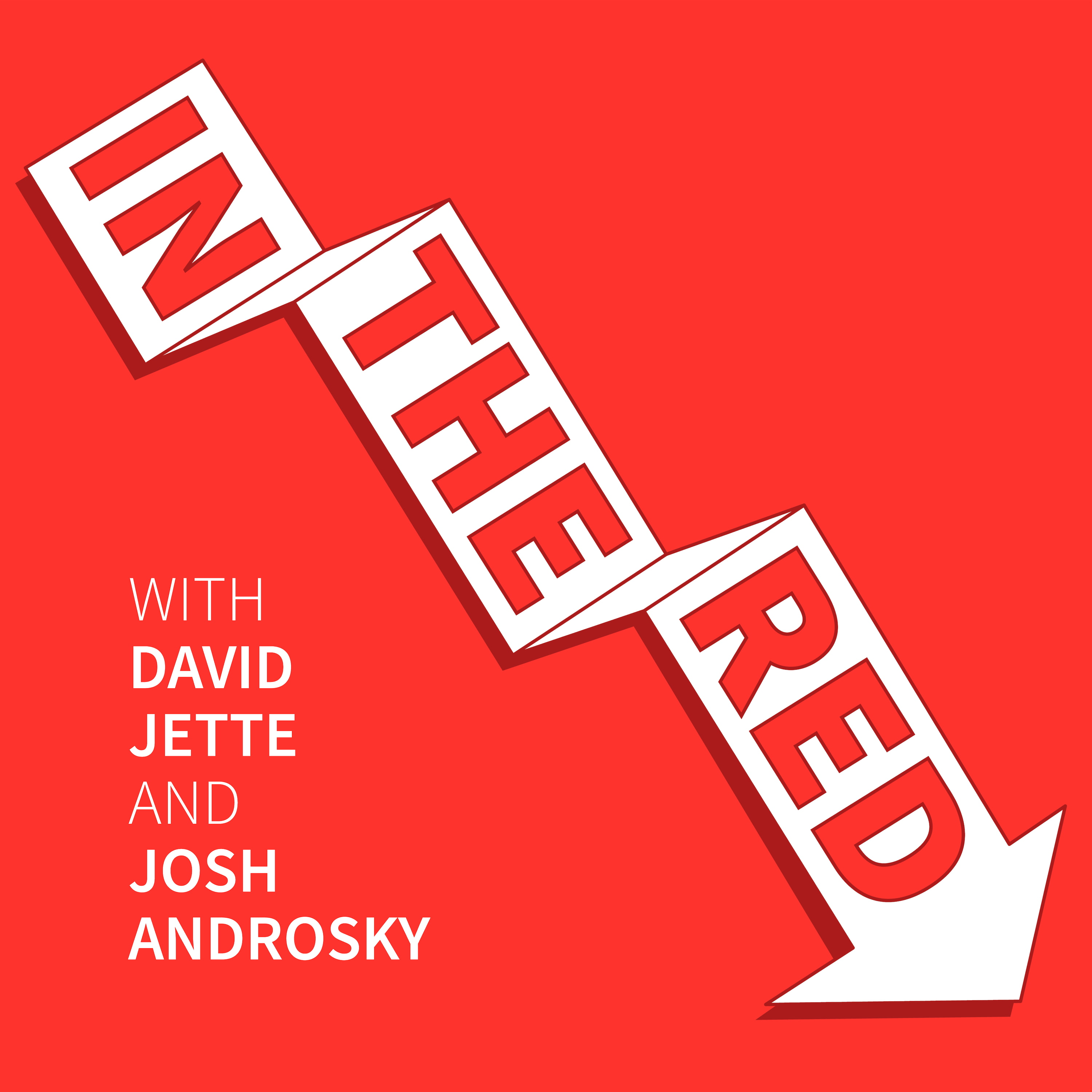 In The Red with David Jette and Josh Androsky show art