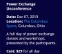 Artwork for EA506 - Day to Day Power Exchange
