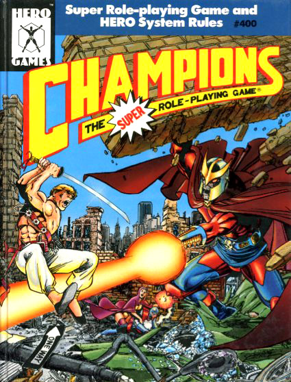 40: Champions and Superheroes as Genre