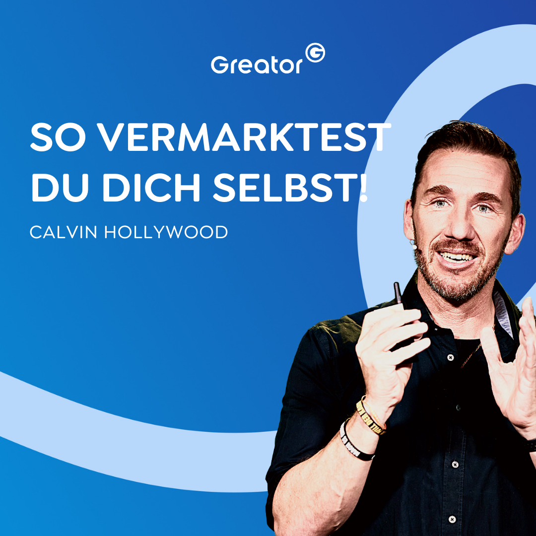 #827 Social Media: 3 Strategien zur Selbstvermarktung // Calvin Hollywood