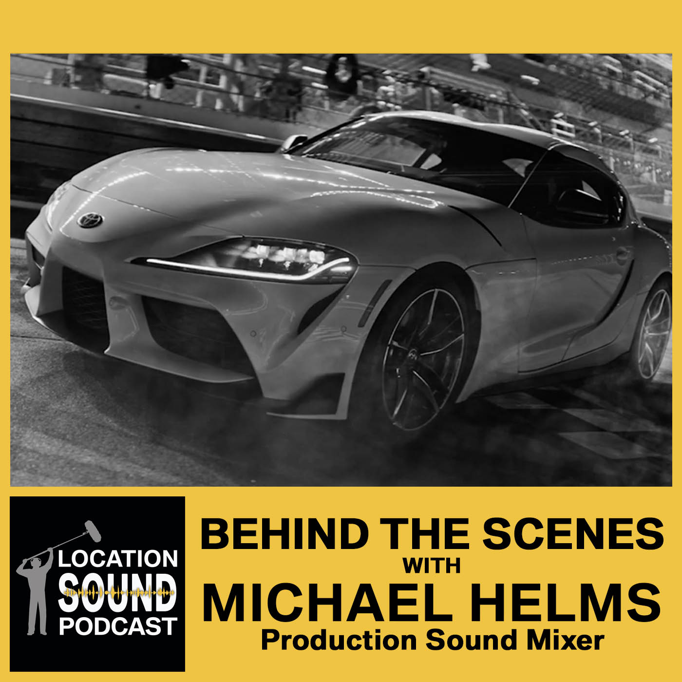 068 Michael Helms - Behind-The-Scenes filming at Daytona International Speedway