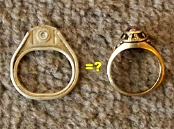 116-130131 In the Treasure Corner-  Pulltab or Gold Ring?
