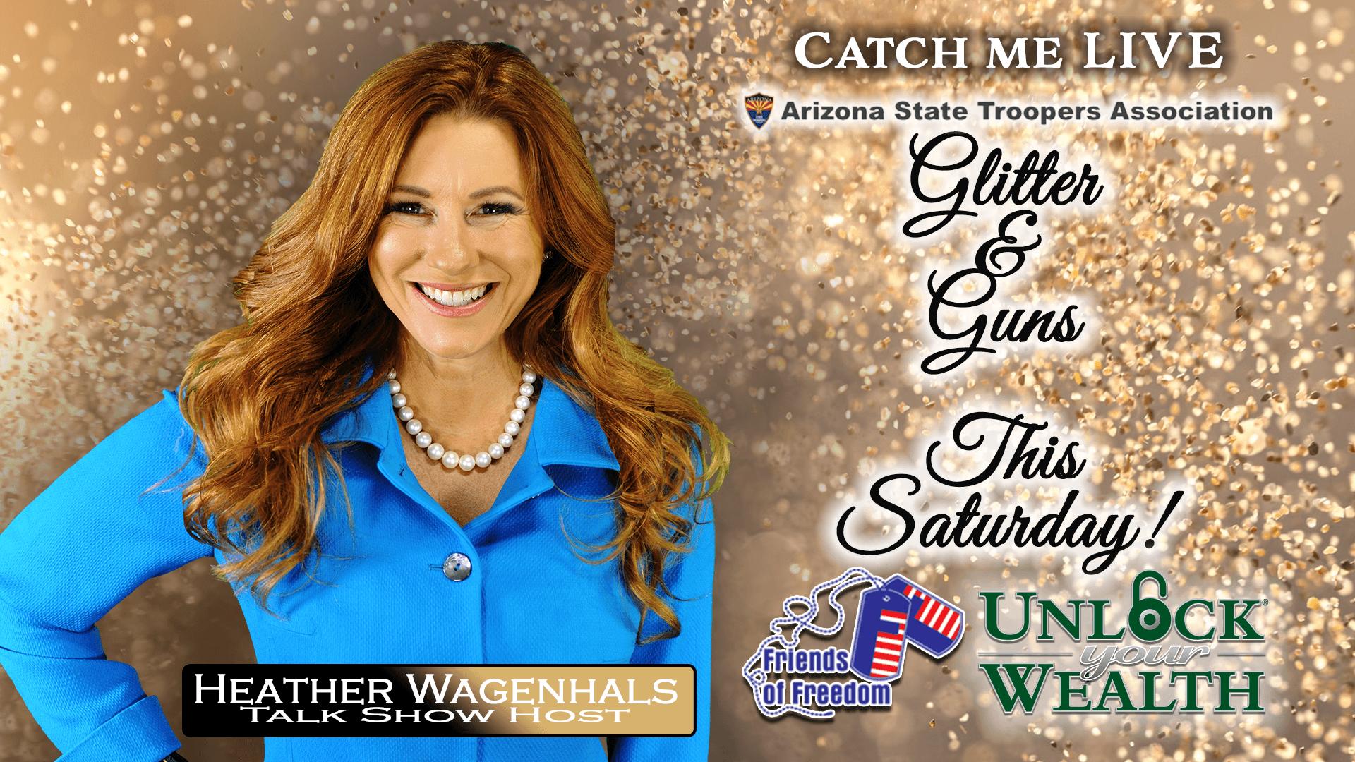 Heather Wagenhals Presenting Live at Glitter and Guns