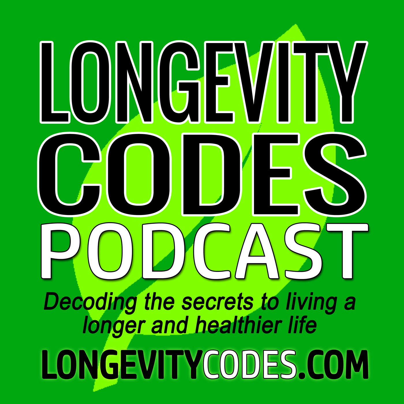 104 Biohacking Your Way to a Longer Healthier Life show art