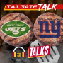 Artwork for Jets & Giants Tailgate Talk: Eli Manning, Adam Gase, analytics