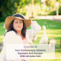 Artwork for Your Environment, Mindset, Hypnosis And Success With Michelle Petit
