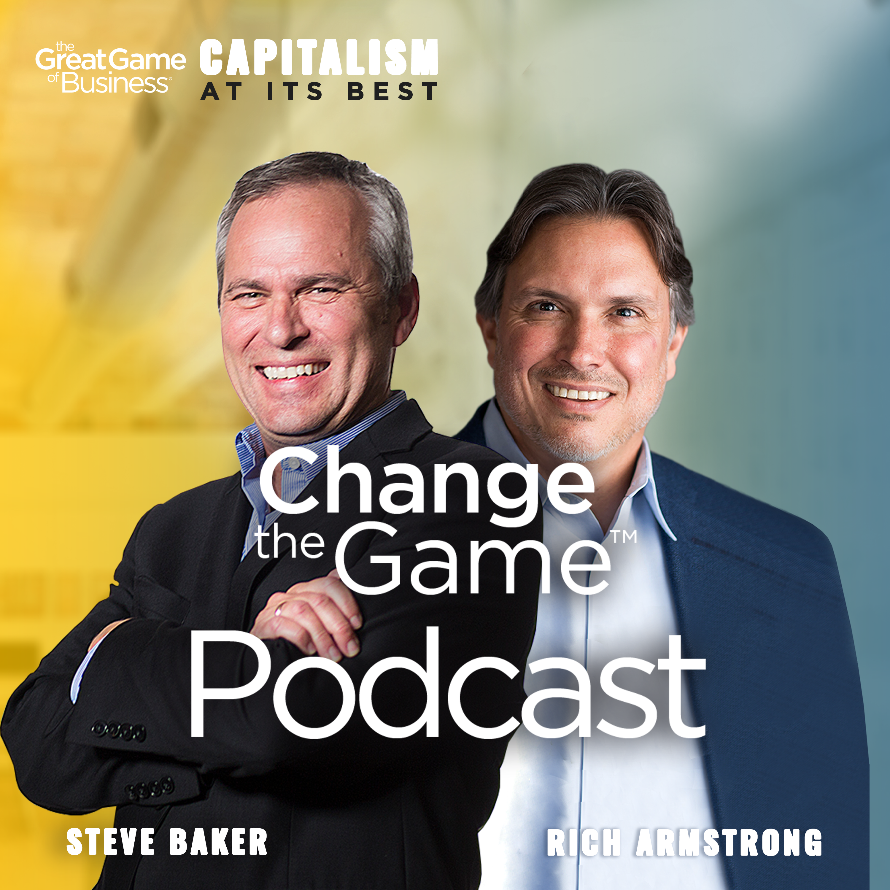 Change The Game Podcast show art
