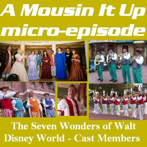 A Mousin' It Up! micro-episode: 7 Wonders - Cast Members