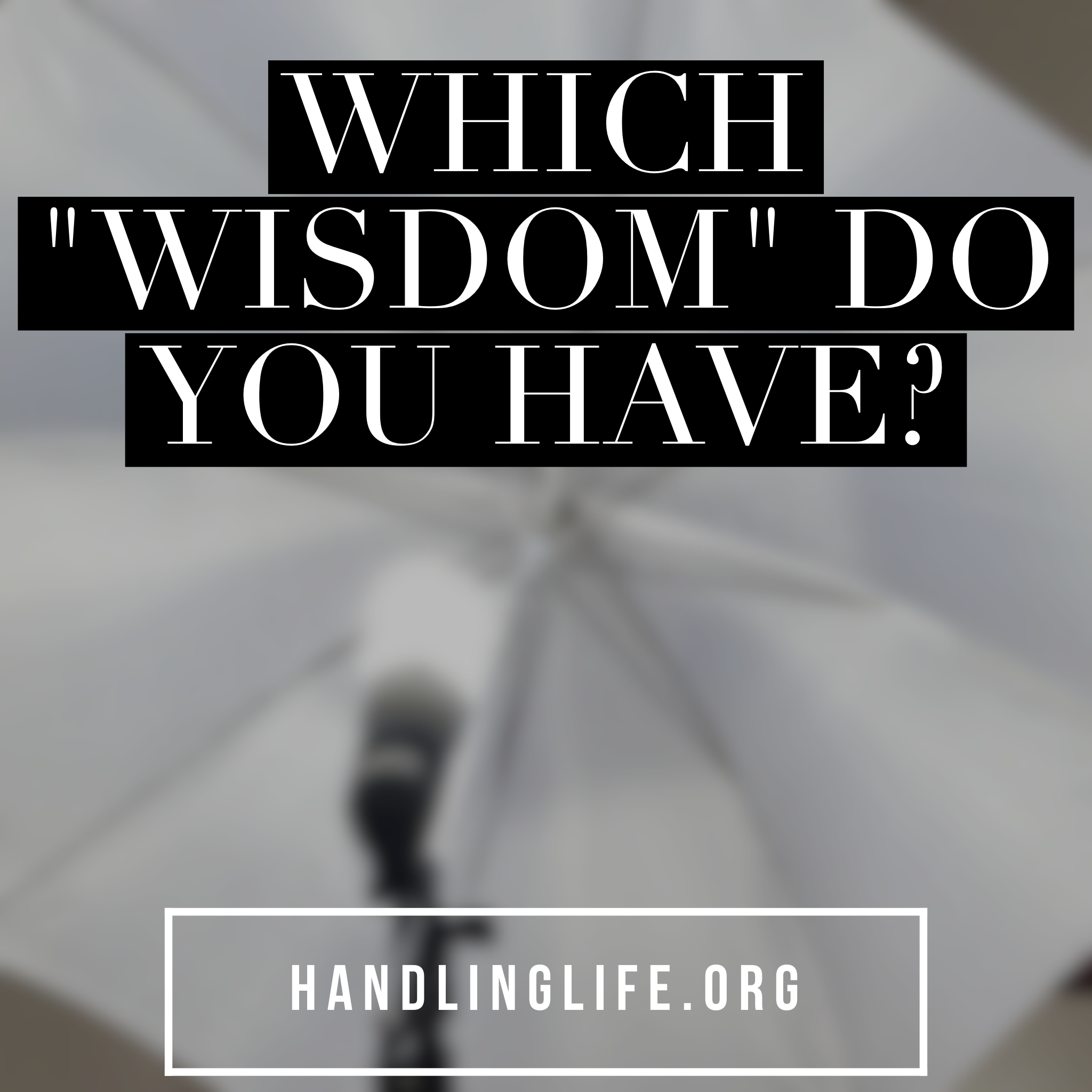 """Artwork for Which """"wisdom"""" do you have?"""