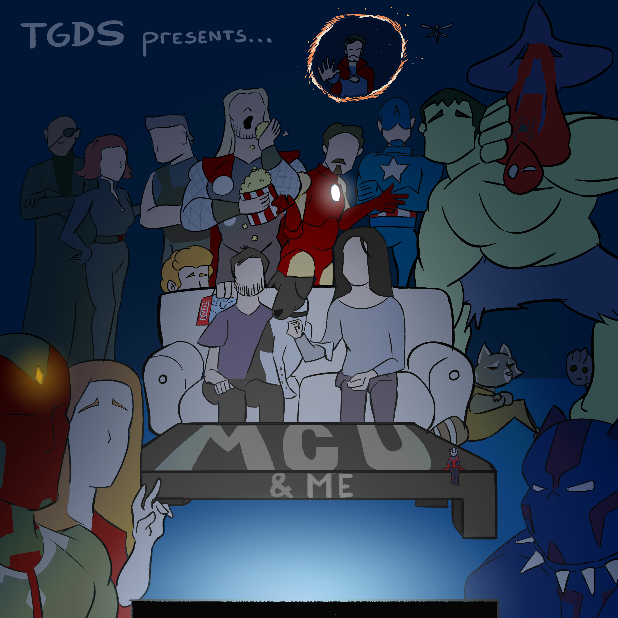 MCU & Me: The Avengers show art