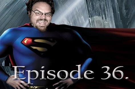"Artwork for Episode 36: The Death of ""Superman Lives"""