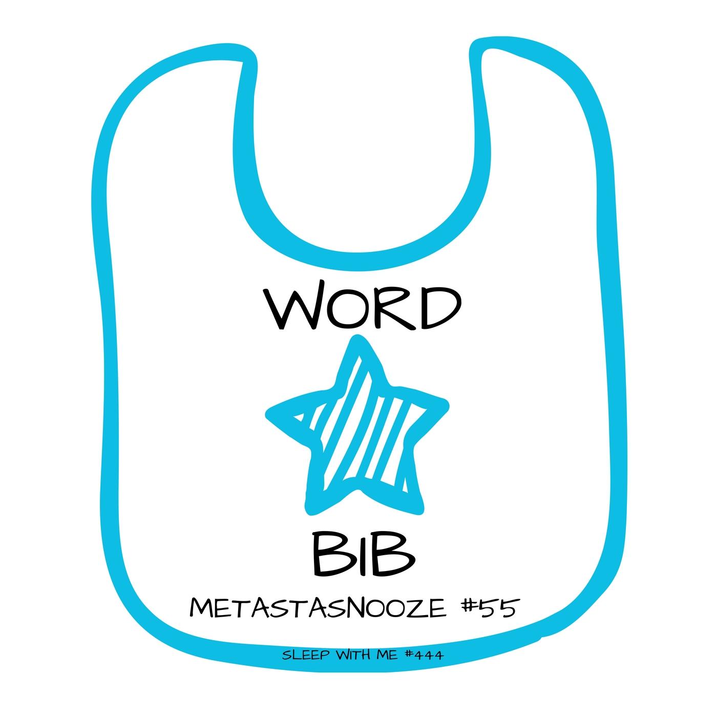 Word Bib | Metastasnooze #55 | Sleep With Me #444