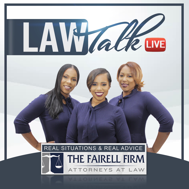 Law Talk Live show art