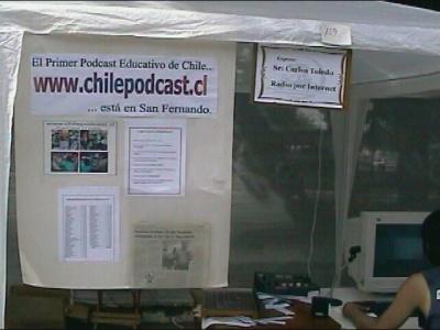 137 ChileVideoCast en la Plaza de San Fernando Enero 2006
