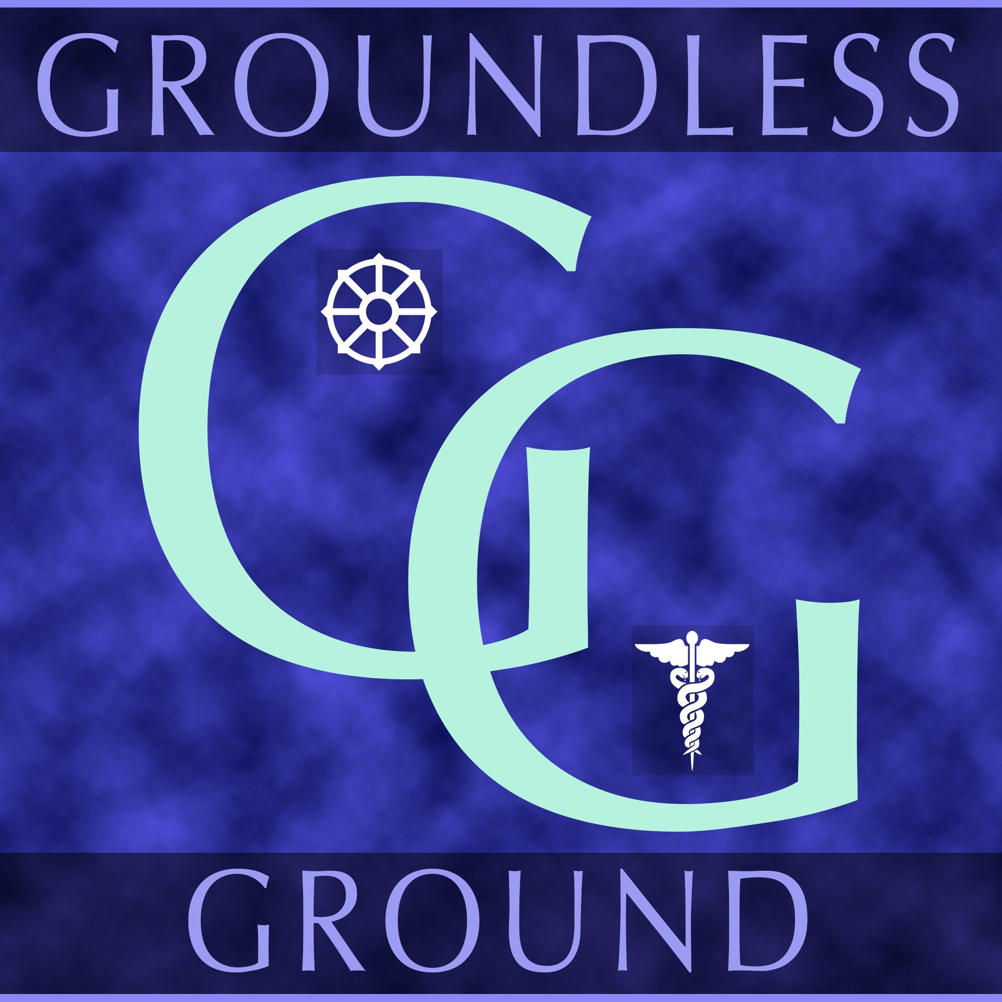 Groundless Ground Podcast show art