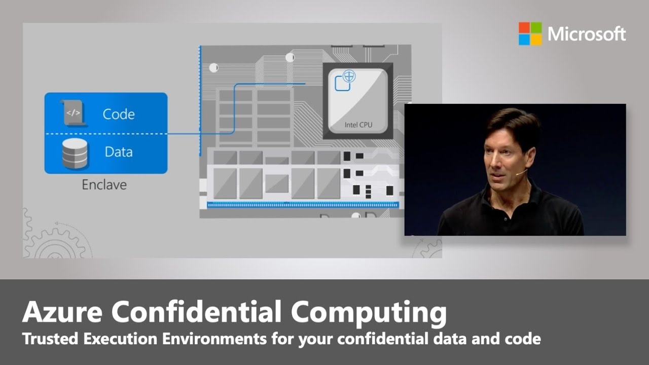 Artwork for Azure Confidential Computing updates with Mark Russinovich | Best of Microsoft Ignite 2018