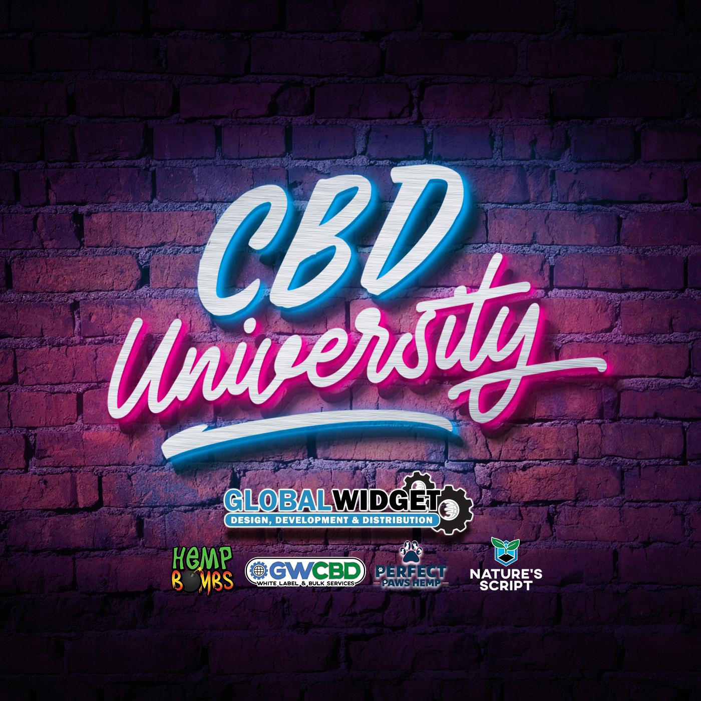 CBD University Podcast show art