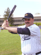 Mark Wetzel, blindGuyHitting Instructor on The guerra Show, May 10, 2009