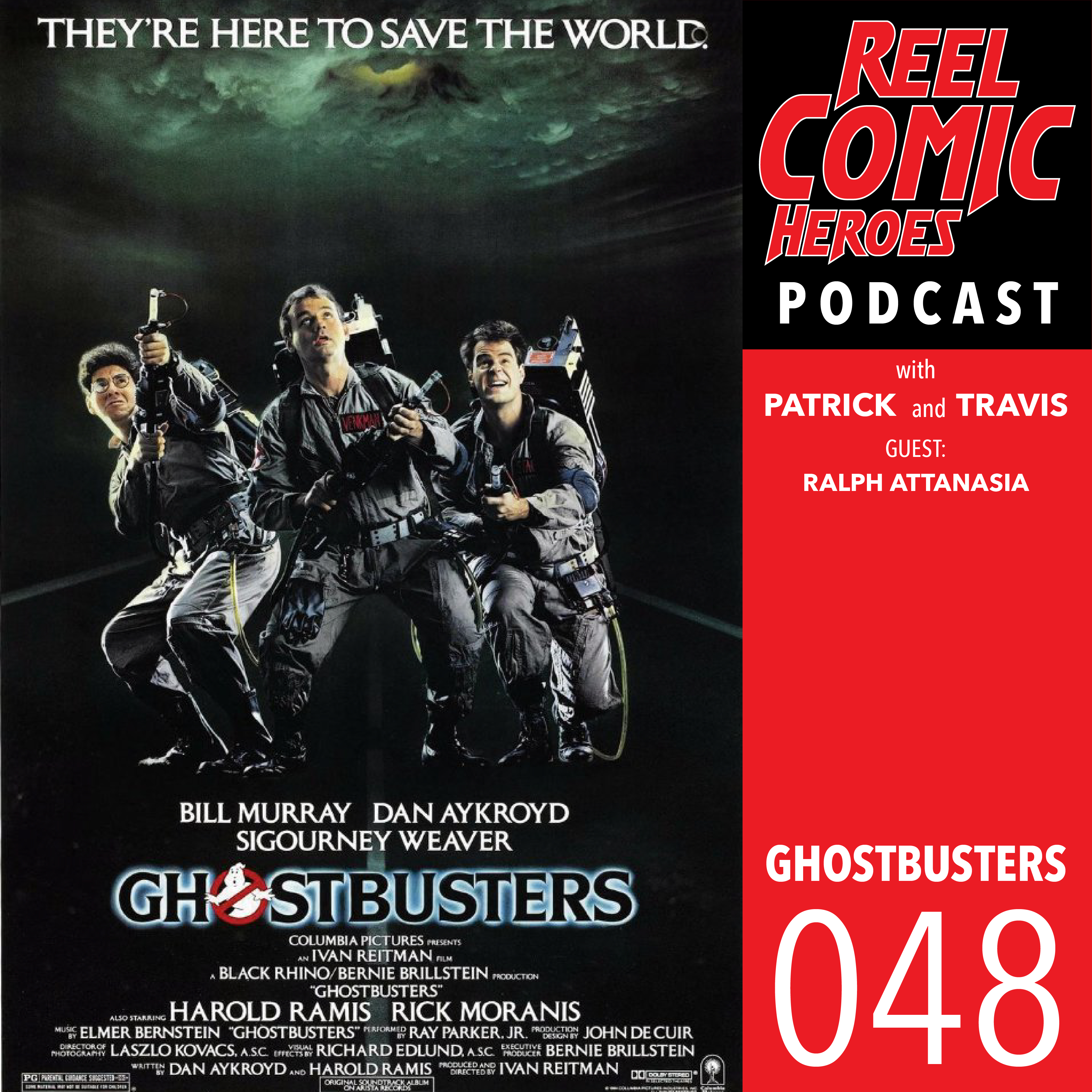Artwork for Reel Comic Heroes 048 - Ghostbusters with Ralph Attanasia