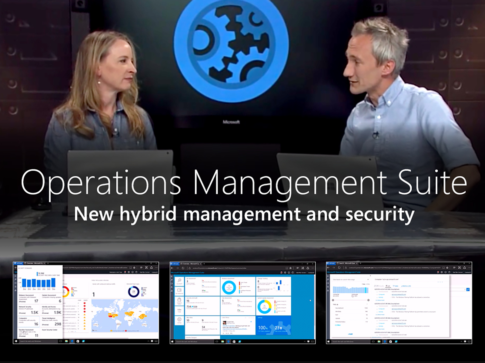 Artwork for New hybrid management and security with Microsoft Operations Management Suite