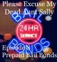 Artwork for Episode 8 - Prepaid Bail Bonds