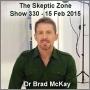 Artwork for The Skeptic Zone #330 - 15.Feb.2015