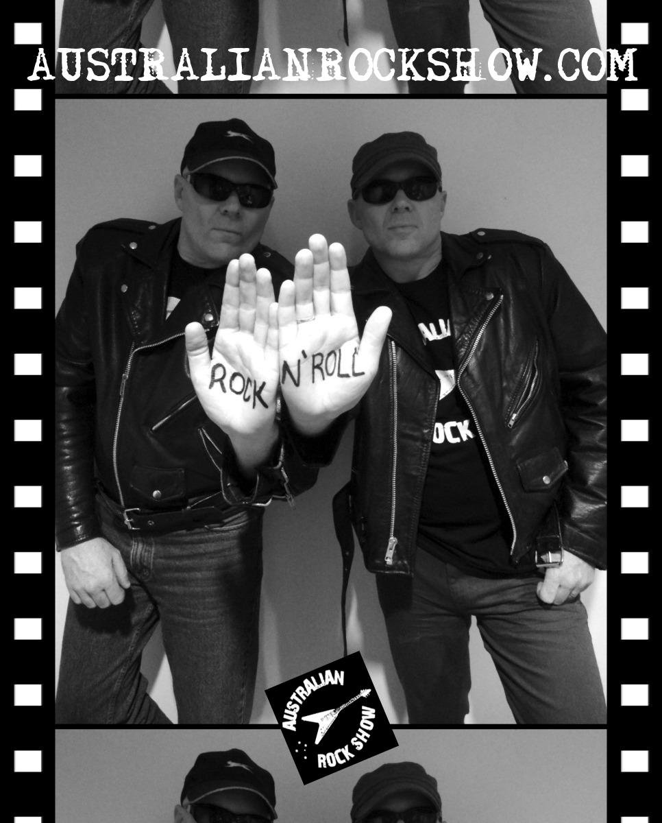 Australian Rock Show show art