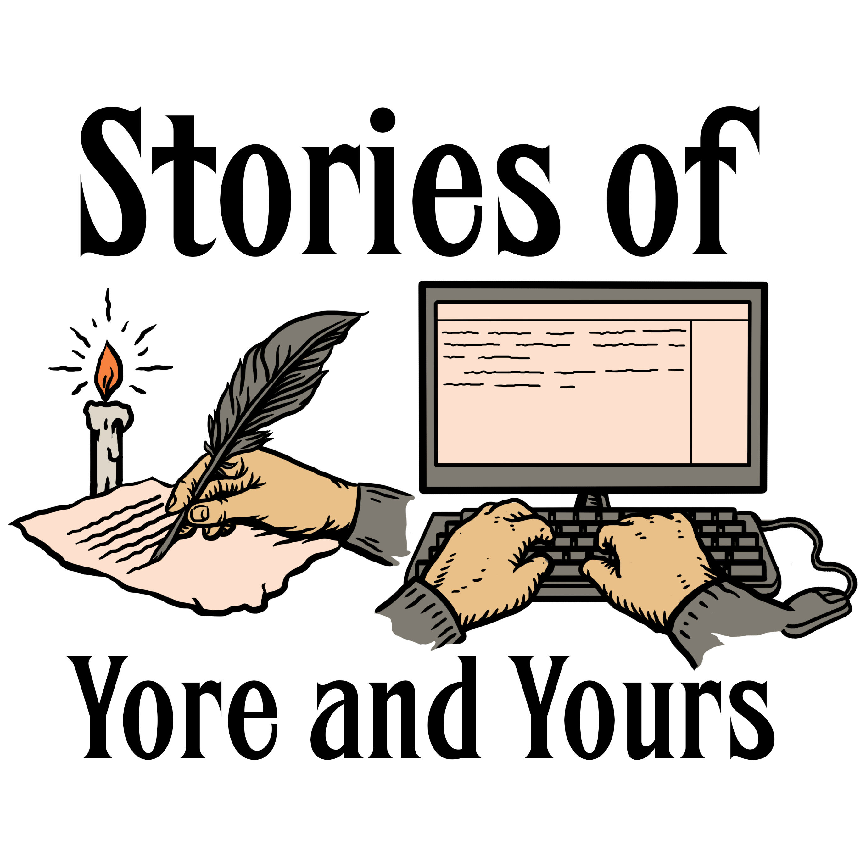 Stories of Yore and Yours show art