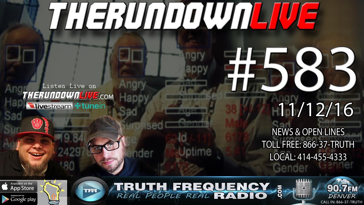 The Rundown Live #583 (State of the Union,X Files, Common Core Cash)