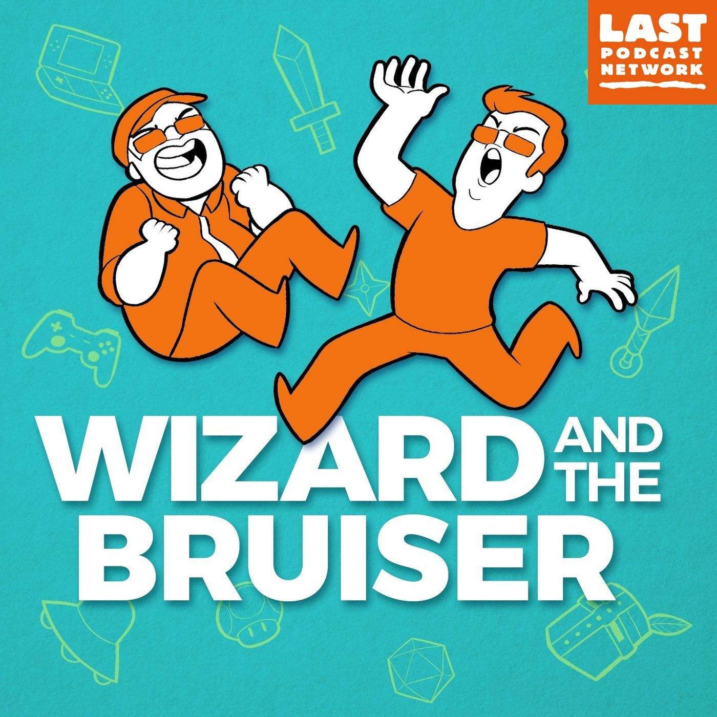 Wizard and the Bruiser show art