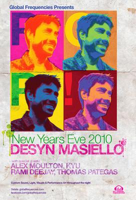 KYU @ 2010 NYE w/ Desyn Masiello (9pm - 10pm)