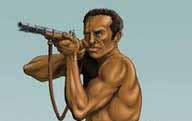 Pintura representativa de Negro Cosme