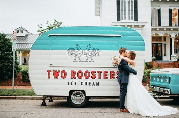 Two Roosters Ice Cream for Your Wedding