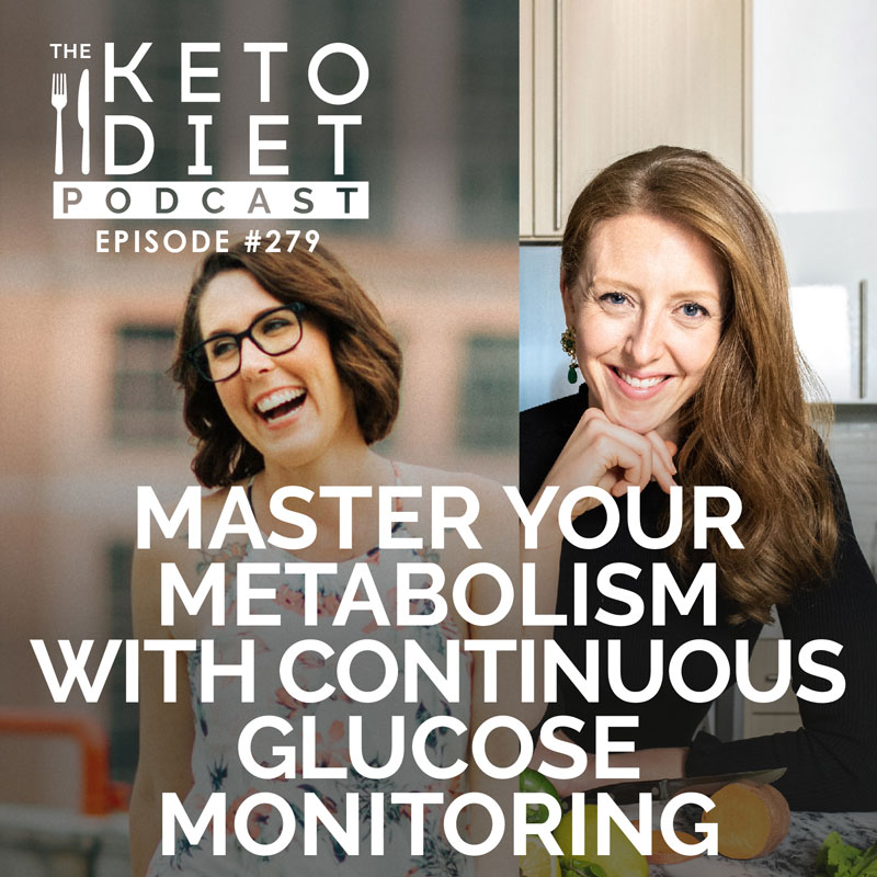 #279 Continuous Glucose Monitoring with Casey Means {Chief Medical Officer of Levels}