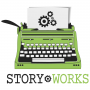 Artwork for Story Works Round Table 097 | Writing with Humor