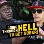 Artwork for Going through Hell to get sober
