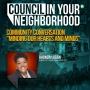 "Artwork for Community Conversation ""Minding Our Hearts and Minds"" w/Councilwoman Rhonda Logan | Council In Your Neighborhood | KUDZUKIAN"