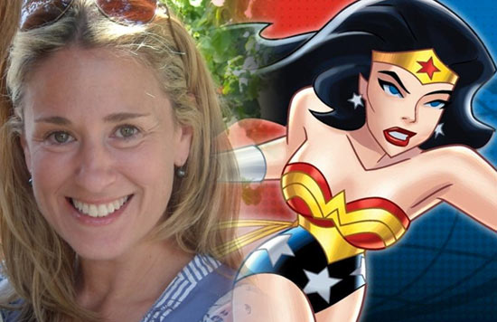 Susan Eisenberg, the voice of Wonder Woman