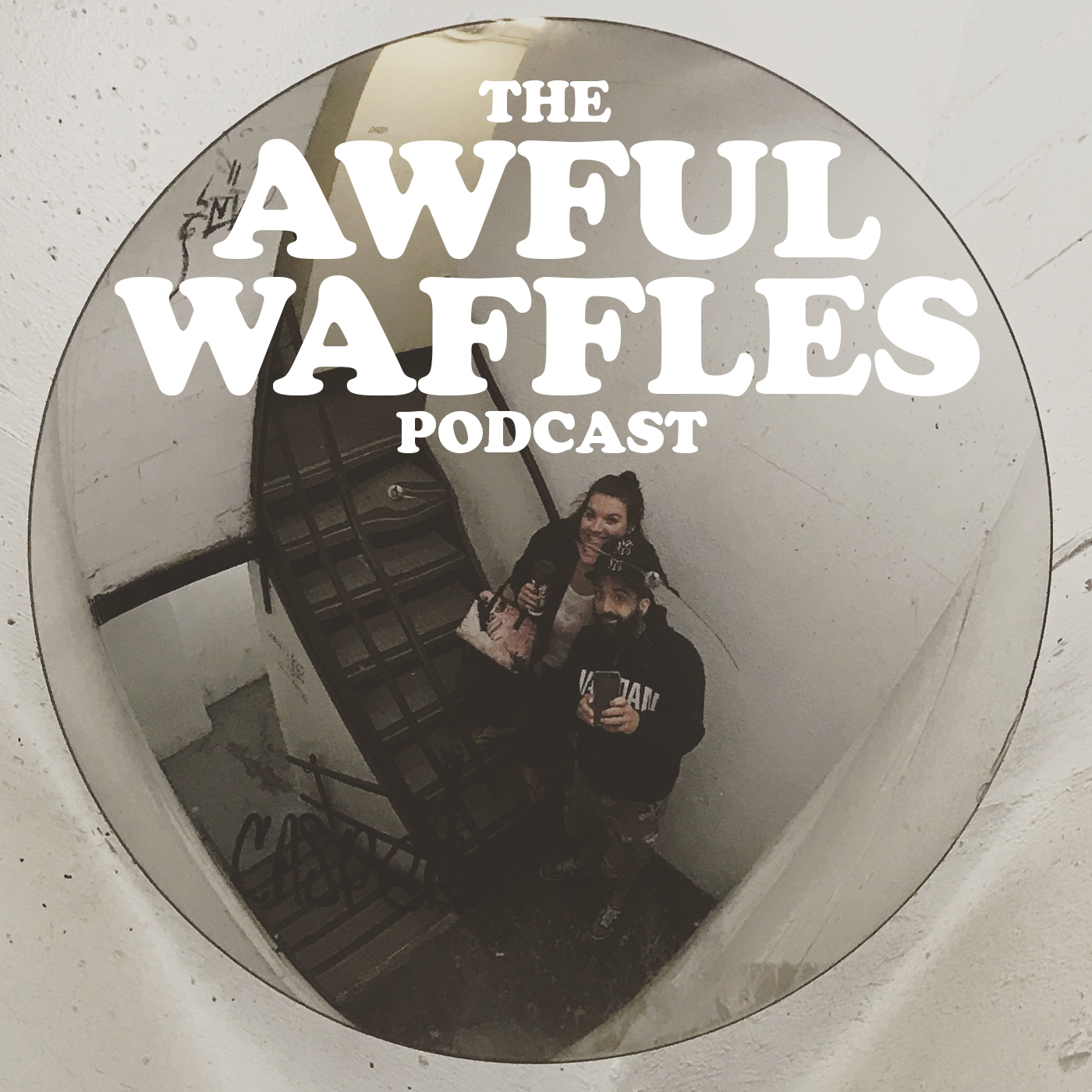 The Awful Waffles Podcast show art