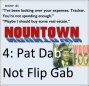 Artwork for EP155--Nountown 4, Pat Dab, Not Flip Gab