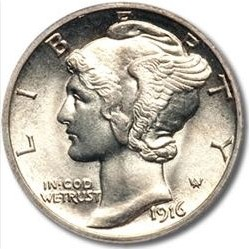 111-121124 In the Treasure Corner - Know Your Coins IV - The Mercury Dime