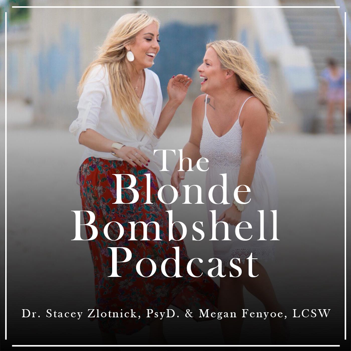 The Blonde Bombshell Podcast show art