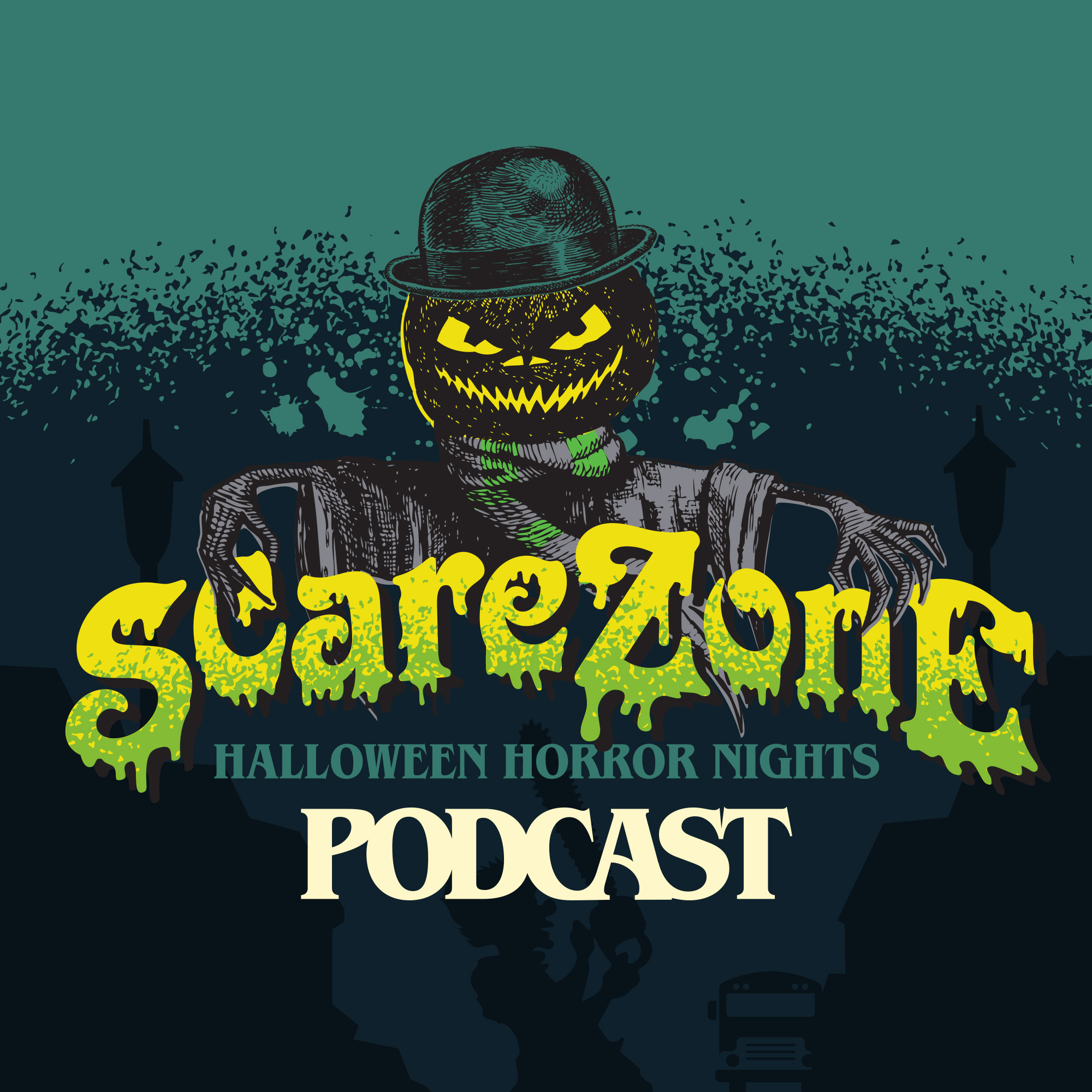 ScareZone - Halloween Horror Nights Podcast show art