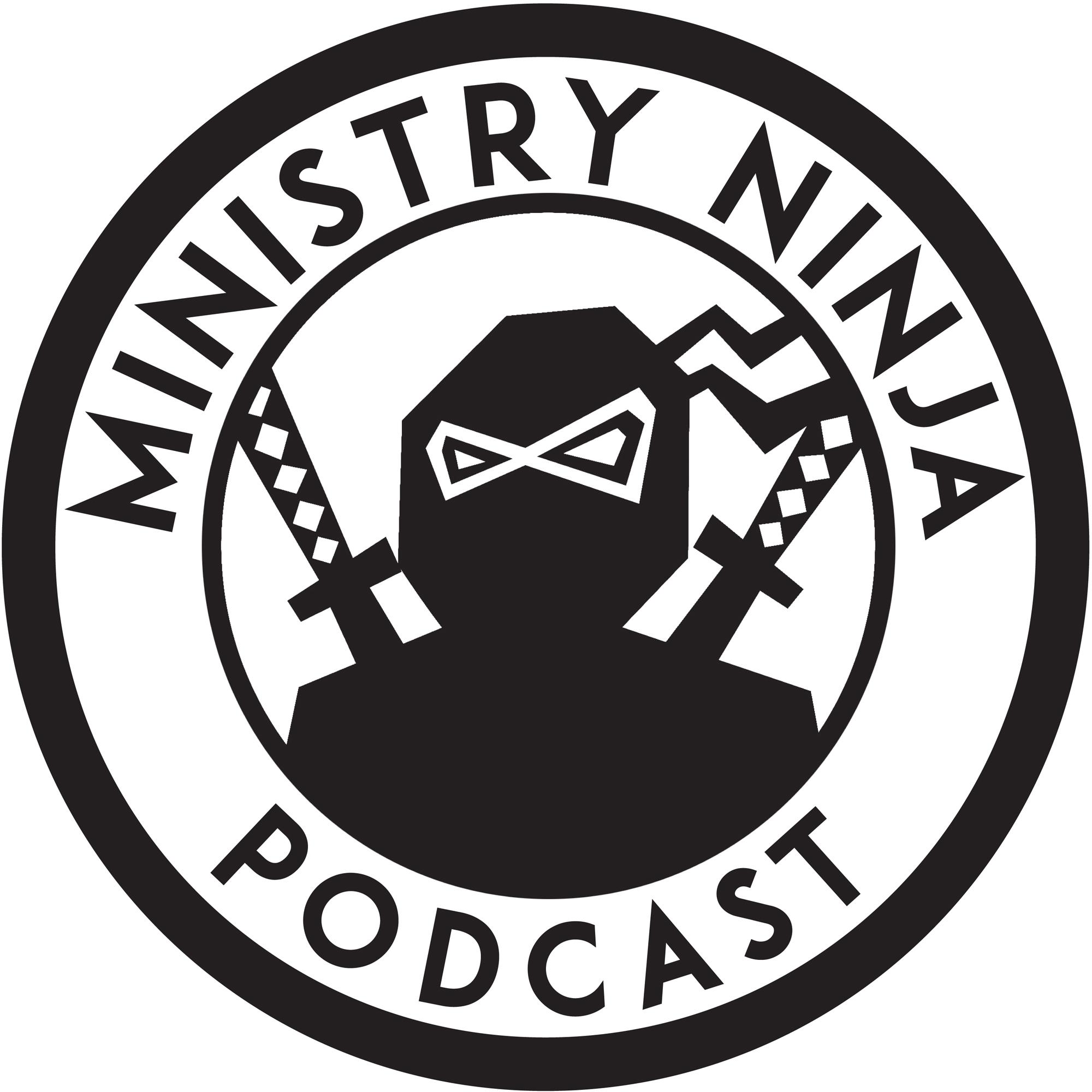 The Ministry Ninja Podcast show art