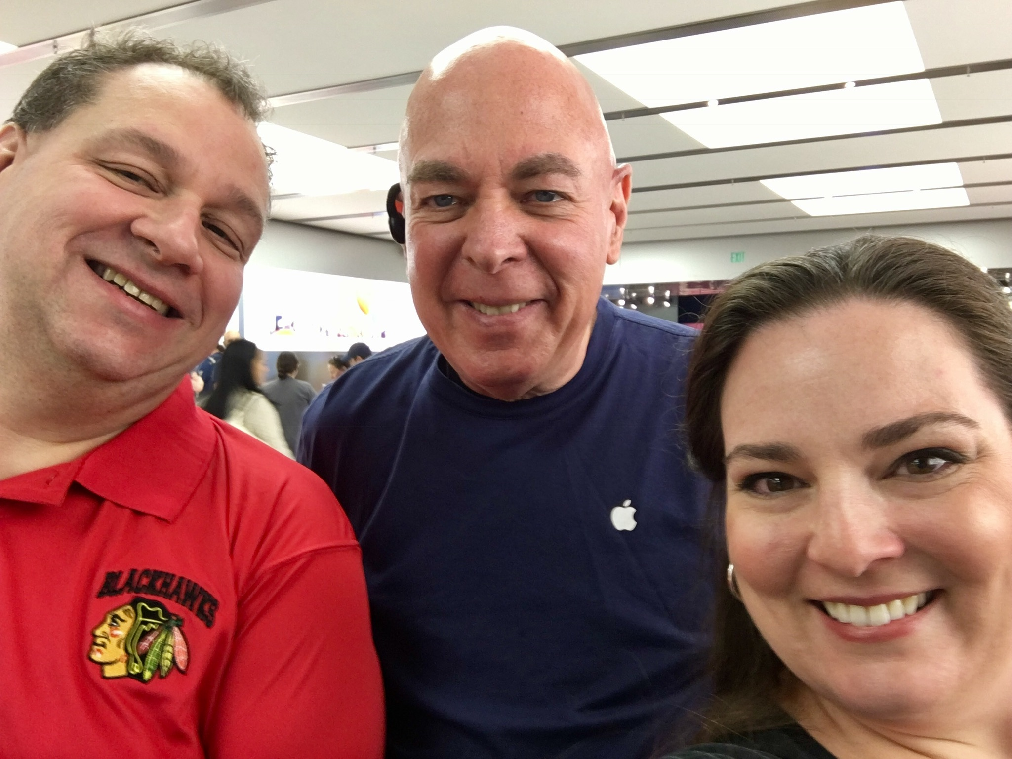 Dave and Melissa Meet Apple Store Steve