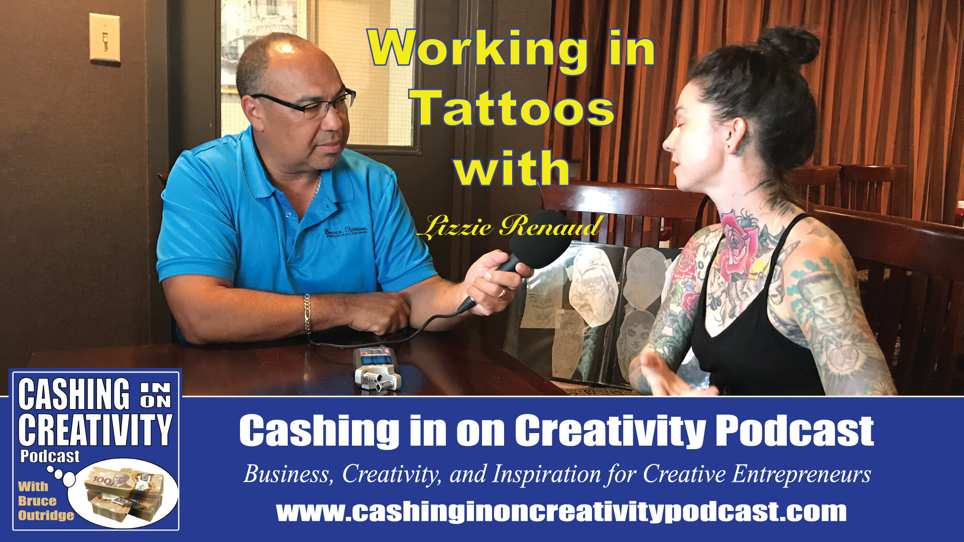 Tattoos with Lizzie Renaud