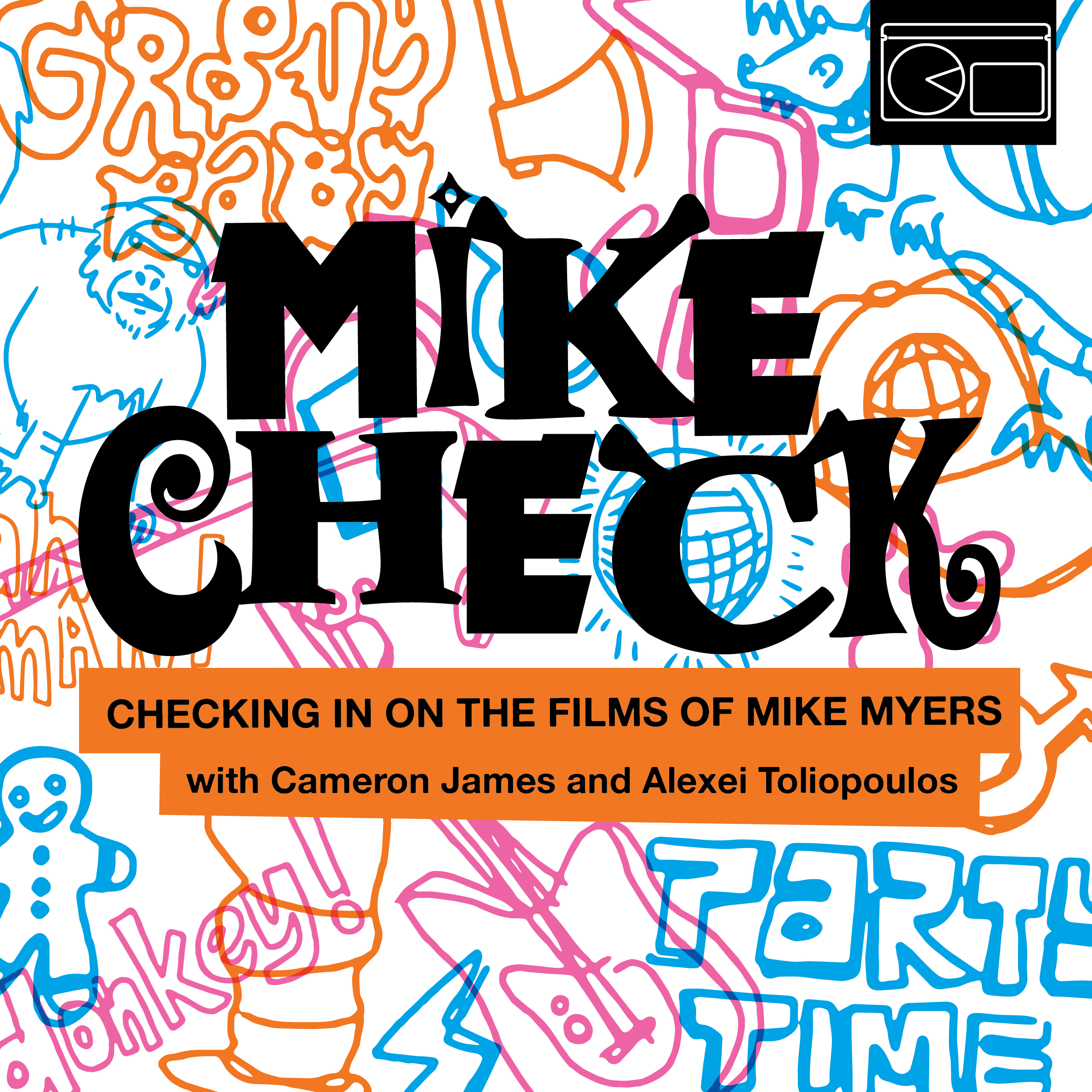 Mike Check with Cameron James & Alexei Toliopoulos show art