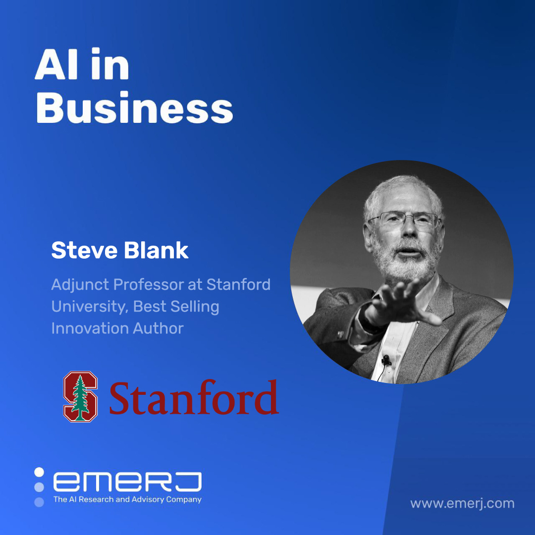 Defense Innovation, AI, and the Future of the Military - with Steve Blank of Stanford University